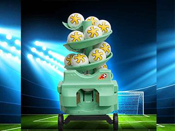 futbol topu atma makinası